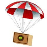 Charitable Food Supply Drop Stock Image