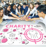 Charity Aid Donation Awareness Concept Royalty Free Stock Photos