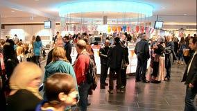 Charity bazaar 2014, Kiev, Ukraine, stock video footage