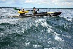 Free Charity Canoe Trip - Bornholm Royalty Free Stock Photos - 26837788