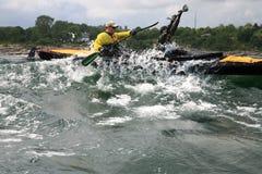 Free Charity Canoe Trip - Bornholm Royalty Free Stock Photography - 26837877