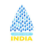 Charity clean Water poster. Social illustration about problems India. Giving donations for Indian children and people. Foundation Royalty Free Stock Image