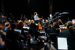 Charity concert for Colectiv victims Stock Photography