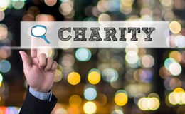 CHARITY DONATE Give Concept Stock Photography