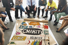 Charity Donate Give Hope Aid Concept royalty free stock photography
