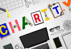 Charity Donate Help Assistance Relief Concept Royalty Free Stock Photo