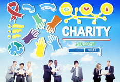 Charity Donation Give Help Support Concept Royalty Free Stock Images