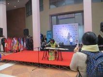 Charity Fair in Kiev Stock Photos