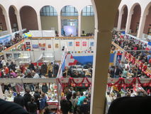 Charity Fair in Kiev.  Royalty Free Stock Images