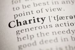 Charity Royalty Free Stock Photography
