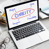 Charity Give Hope Inspiration Friendship Concept Stock Photos