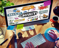 Charity Help Give Volunteer Concept Royalty Free Stock Images