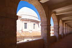 Charity Hospice in Marseille. The Ancient Hospital Vieille Charite in Marseille Stock Image