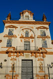 Charity hospital. Churf of the hospital of charity, in Seville Royalty Free Stock Images