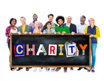 Charity Support Help Welfare Donation Concept Royalty Free Stock Photography