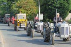 Charity Tractor Run Royalty Free Stock Photos