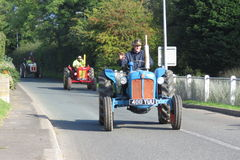 Charity Tractor Run Royalty Free Stock Photography