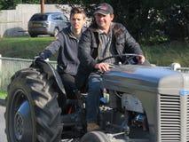 Charity Tractor Run Royalty Free Stock Photo