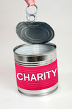 Charity word Stock Image