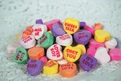 Charla dulce Foto de archivo libre de regalías