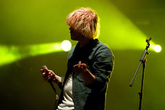 The Charlatans (English indie rock band) at FIB Festival Royalty Free Stock Photo