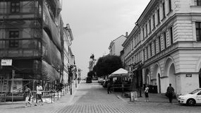 Charle's square. In Kolin in Central Bohemia - B Stock Images
