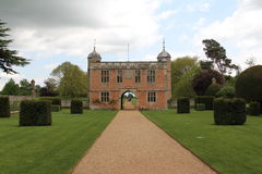Charlecote Park. Gatehouse, Warwickshire, England Royalty Free Stock Image