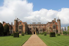 Charlecote Park. Charlecote Tudor House, Warwickshire, England Royalty Free Stock Photo