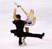 Charlene Guignard i Marco Fabbri Zdjęcie Royalty Free
