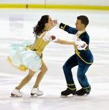Charlene Guignard and Marco Fabbri Royalty Free Stock Image