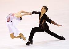 Charlene Guignard и Marco Fabbri Стоковая Фотография