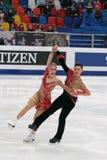 Charlene Guignard y Marco Fabbri Fotografía de archivo