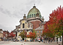 Charleroi city hall. Wallonia. Belgium Stock Photography