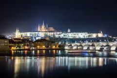 Charles överbryggar, Prague Royaltyfria Foton