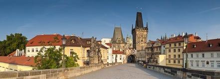 Charles överbryggar, Prague Royaltyfria Bilder