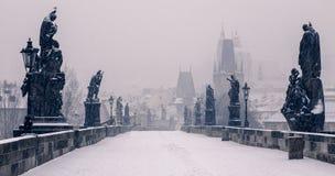 Charles överbryggar, Prague Royaltyfri Bild