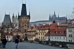 Charles överbryggar, Prague arkivfoton