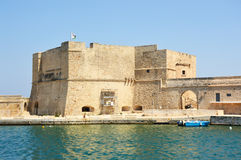 Charles Β κάστρο στην πόλη Monopoli, Apulia, Ιταλία Στοκ φωτογραφία με δικαίωμα ελεύθερης χρήσης