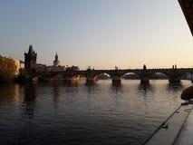 Карлов мост стоковые изображения rf