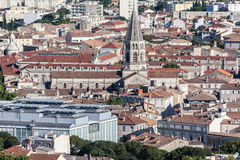 Charles Auguste Questel Church Nimes France Royalty Free Stock Photography