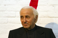 Charles Aznavour royalty free stock photo