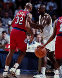 Charles Barkley and Chuck Person Stock Images