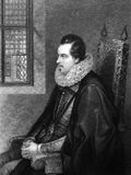 Charles Blount, 8th Baron Mountjoy Royalty Free Stock Photography