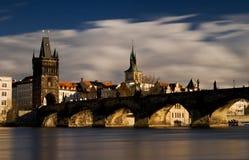 Charles-Brücke lizenzfreie stockfotos