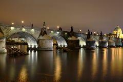 Charles-Brücke Stockbild