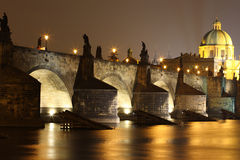 Charles-Brücke Stockfotos