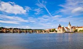 Charles-Brücke - Prag Lizenzfreies Stockfoto