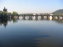 Charles-Brücke. Prag. Lizenzfreies Stockbild