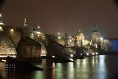 Charles-Brücke in Prag Stockfoto