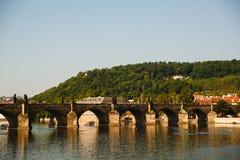 Charles-Brücke, Prag, Tschechische Republik lizenzfreies stockfoto